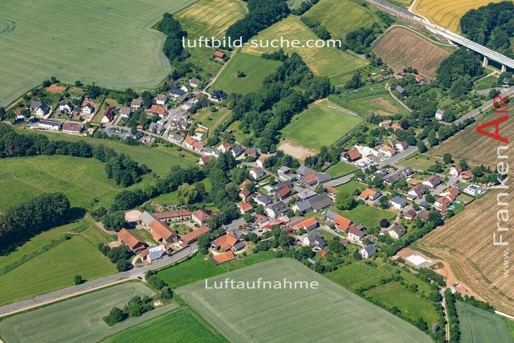 obersiemau-19-381 | aktuelles Luftbild von Obersiemau  - Luftaufnahme wurde 2019 von https://frankenair.de mittels Flugzeug (keine Drohne) erstellt.