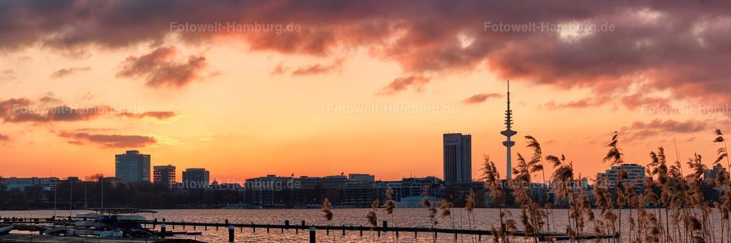 10160201 - Sonnenuntergang an der Aussenalster
