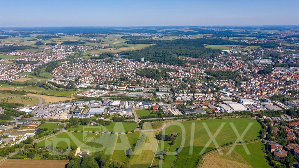 Aalen Süd und 'Hüttfeld'