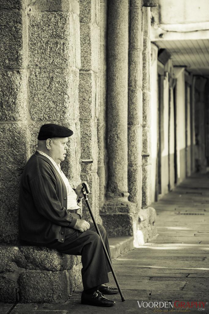 Old camino man