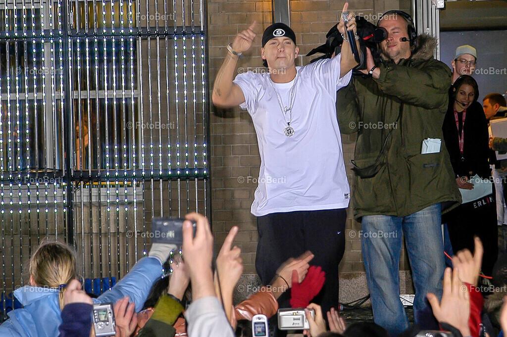 Eminem bei MTV   Eminem bei MTV live an der Spree (MTV-Studios in Berlin)