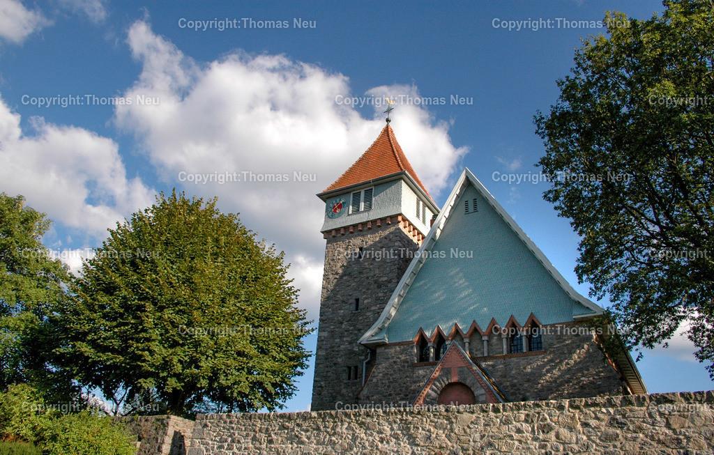 Kirche_Gadernheim-1 | Lautertal, Gadernheim, Kirche, fuer Jubilaeumsbeilage, ,, Bild: Thomas Neu