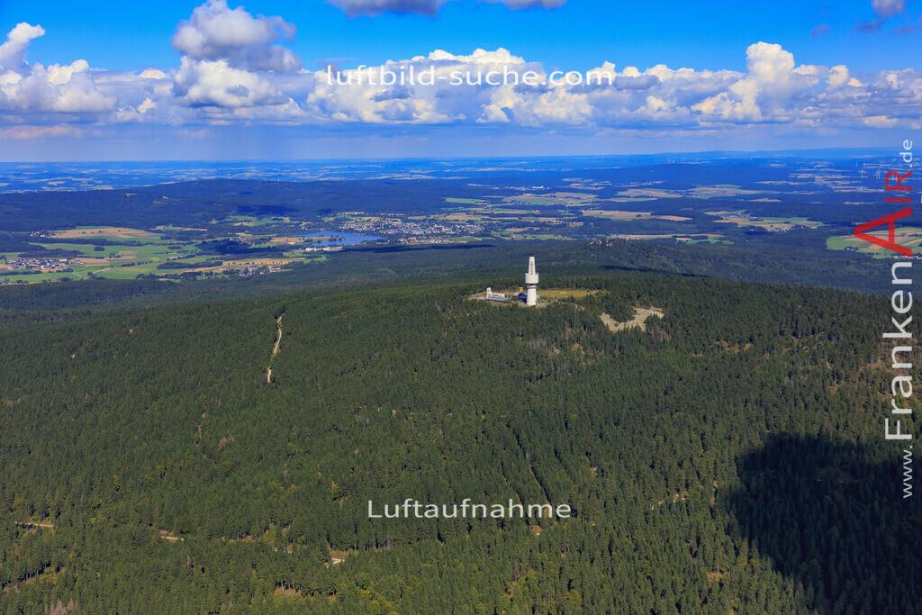 schneeberg-17-5393 | Luftbild von Schneeberg  - Luftaufnahme wurde 2017 von https://frankenair.de mittels Flugzeug (keine Drohne) erstellt - die Geschenkidee