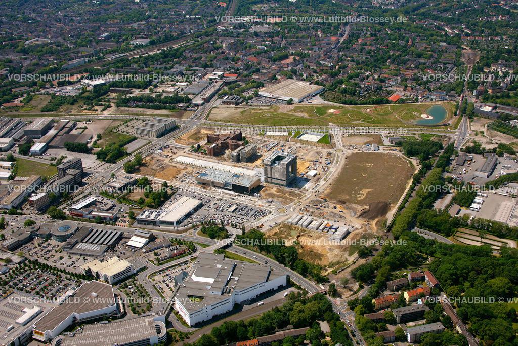ES10058387 | Westviertel ThyssenKrupp Quartier,  Essen, Ruhrgebiet, Nordrhein-Westfalen, Germany, Europa, Foto: hans@blossey.eu, 29.05.2010