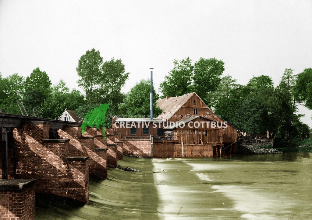 Spreewehrmühle Cottbus 1910