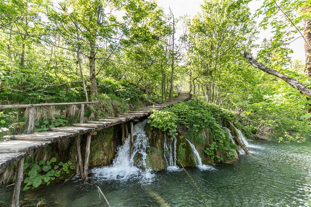Steg Plitvicer Seen