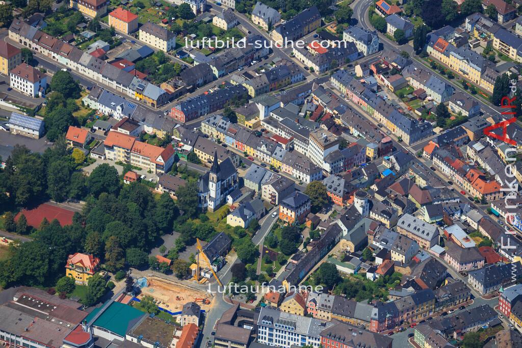 wunsiedel-2014-102 | Luftbild von  Wunsiedel - Luftaufnahme wurde 2014 von https://frankenair.de mittels Flugzeug (keine Drohne) erstellt - die Geschenkidee