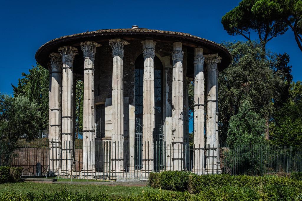 Tempel des Hercules Victor-Rom-1