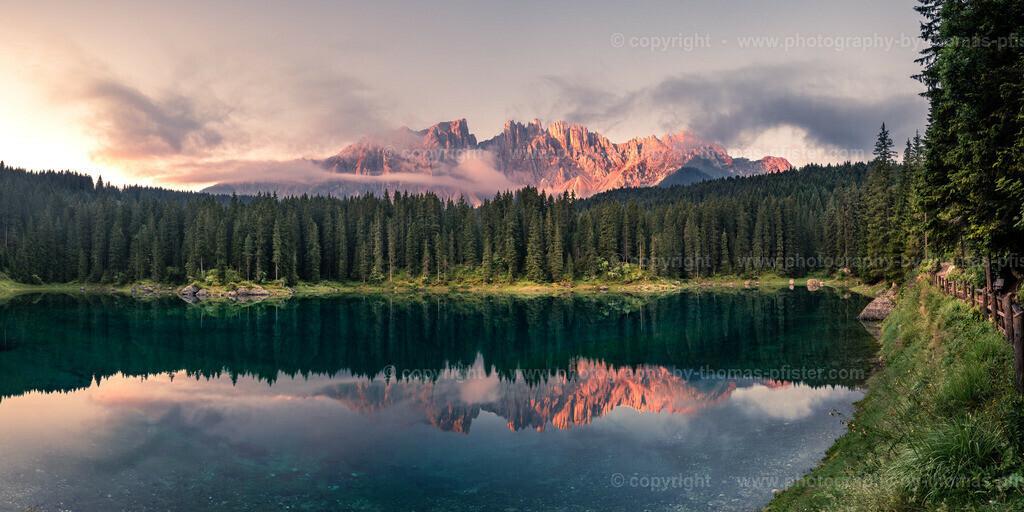 Karrersee Dolomiten Südtirol