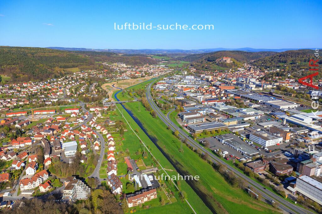 kulmbach-2016-3200 | Luftbild von  Kulmbach - Luftaufnahme wurde 2016 von https://frankenair.de mittels Flugzeug (keine Drohne) erstellt - die Geschenkidee