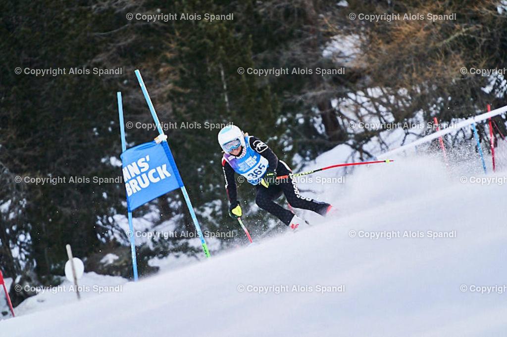 ALS5479_WWMG_GS-II_C | (C) FotoLois.com, Alois Spandl, WinterWorldMastersGames 2020 Innsbruck, Giant Slalom-II Gruppe C Damen, Patscherkofel Olympiaabfahrt, Mi 15. Jänner 2020.