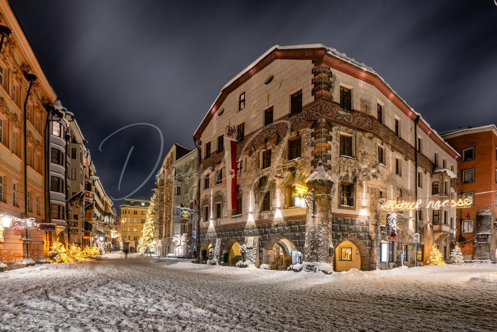 Altstadt | Schnee in der Innsbruck Altstadt