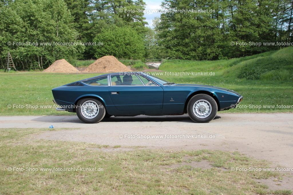 Maserati Khamsin Coupé 2 Türen (Tipo AM120), 1973-82   Maserati Khamsin Coupé 2 Türen (Bertone), Farbe: Dunkelblau, Bauzeit: 1973-82, Tipo AM120, Italien