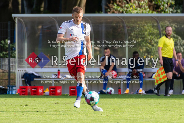 Fußball, Herren, Testspiel, Hamburger SV - FC Midtjylland, HSV-Trainingsplatz am Volksparkstadion, 20.08.2020   Aaron Hunt (#14, HSV)