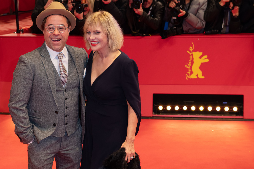 Berlinale 2020 | Jan Josef Liefers und Ehefrau Anna Loos bei der Berlinale 2020