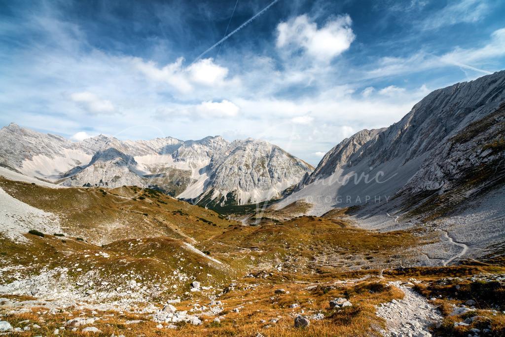 Blick in die Pfeis | Die Pfeis im Karwendel