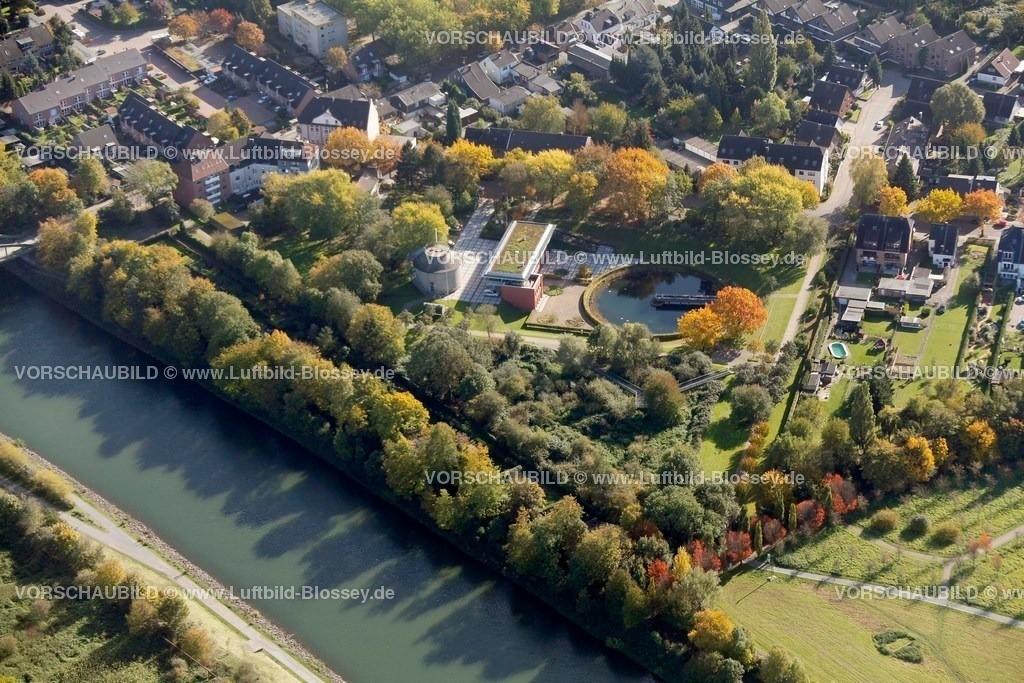 ES10103761 |  Oberhausen, Emscher 160 Kläranlage Läppkes Mühlenbach Ruhrgebiet, Nordrhein-Westfalen, Germany, Europa