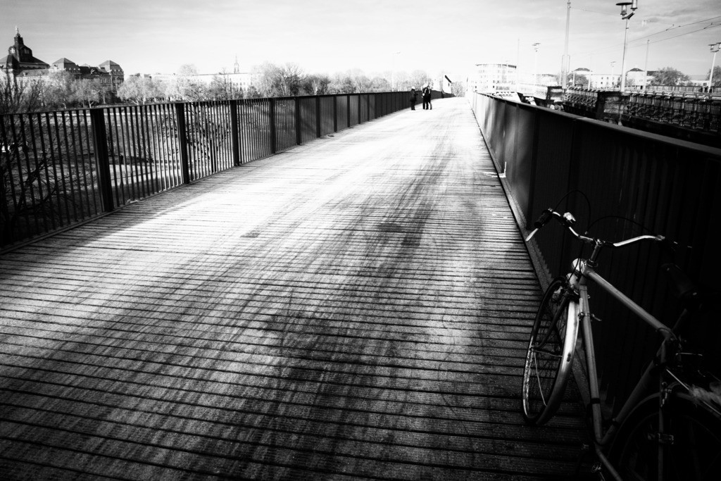 Dresden Albertbrücke   Aus der Serie