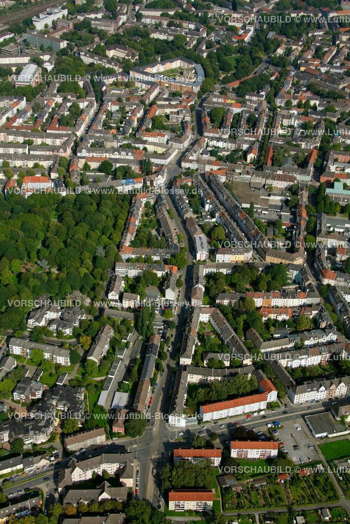 ES10094251 | Frohnhauseer Strasse, Luftbild,  Essen, Ruhrgebiet, Nordrhein-Westfalen, Germany, Europa, Foto: hans@blossey.eu, 05.09.2010