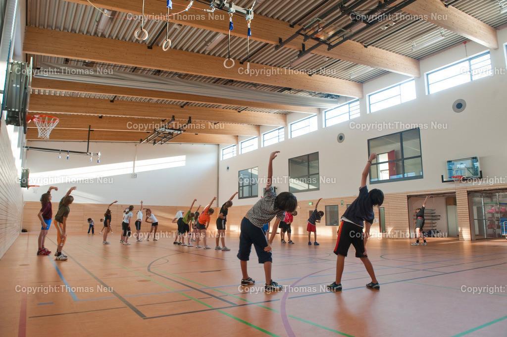 _D7N0123 | 0909,neue Turnhalle Goethegymnasium Bensheim, Bild: Thomas Neu