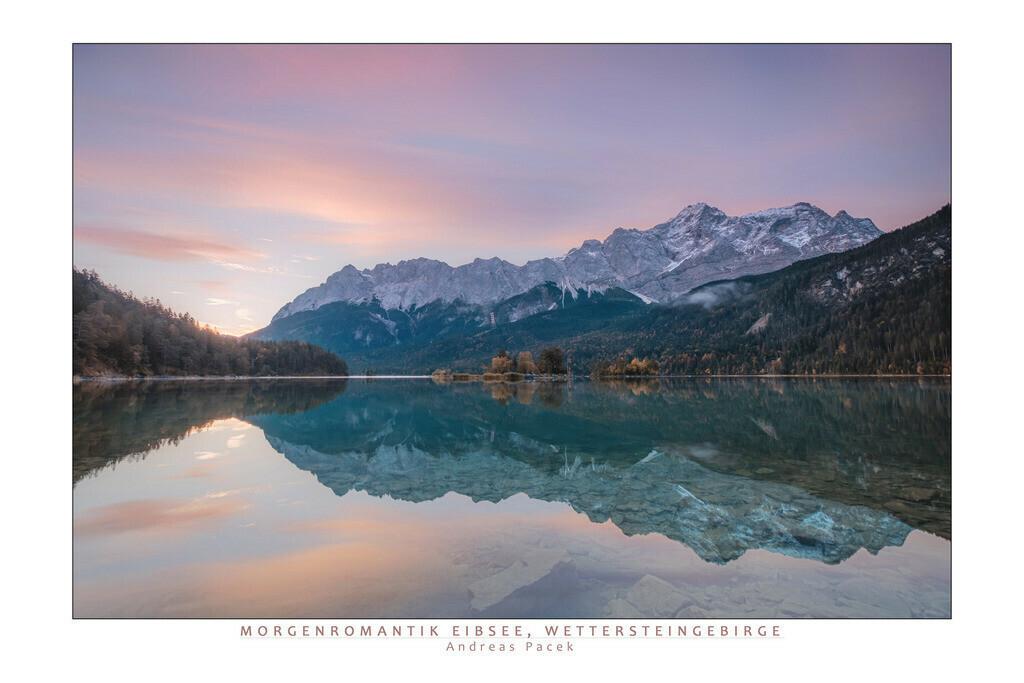 Morgenromantik Eibsee, Wettersteingebirge | Die Serie 'Deutschlands Landschaften' zeigt die schönsten und wildesten deutschen Landschaften.