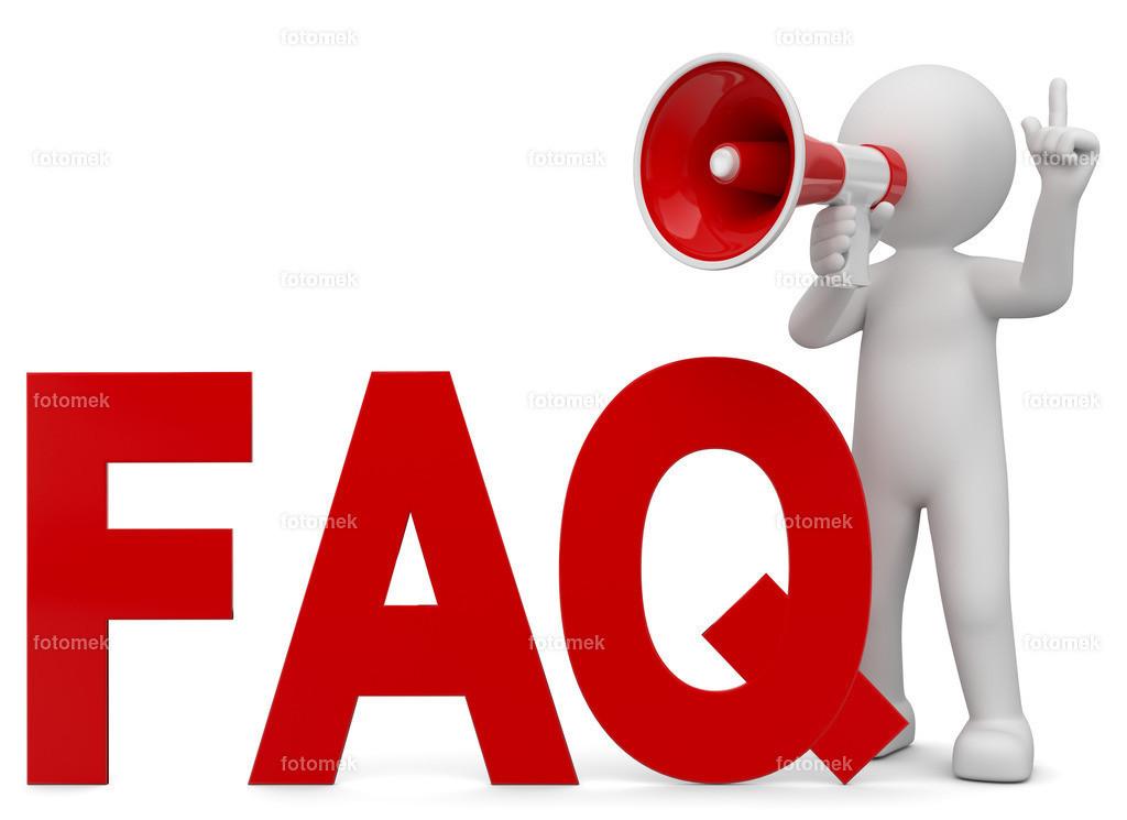 3d Männchen FAQ | 3d Männchen beantwortet Frage, Faq´s mit dem Megaphone.