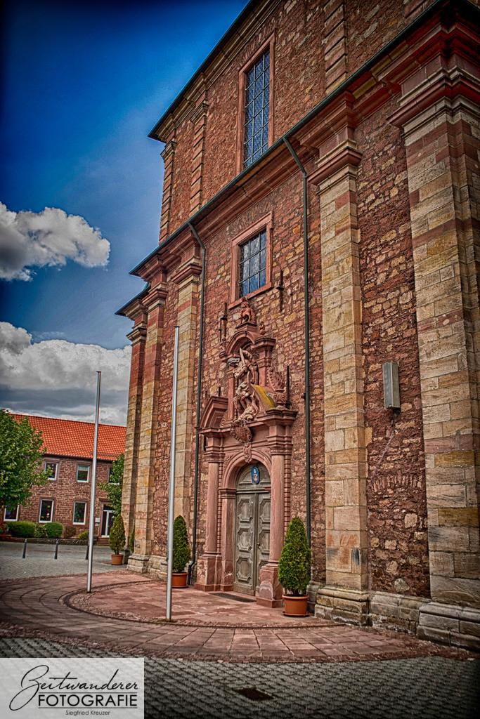 Walldürn Heilig Blut Kirche 2   Stadtkirche Heilig Blut Walldürn, Hauptportal