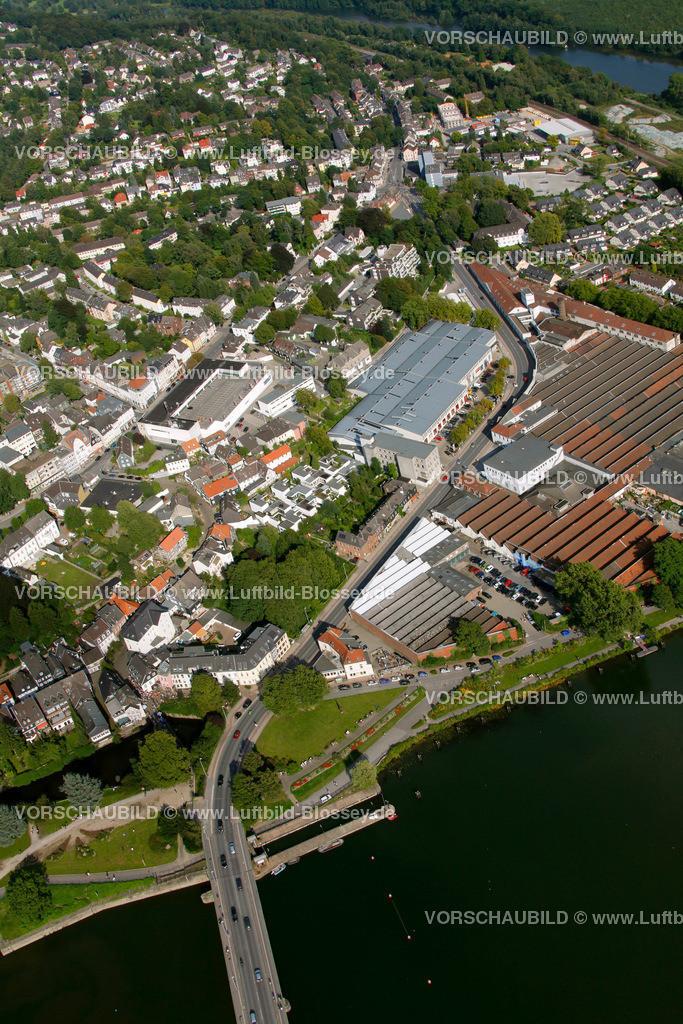 KT10094270 | Ringstrasse, Kettwig, Ruhr, Luftbild,  Essen, Ruhrgebiet, Nordrhein-Westfalen, Germany, Europa, Foto: hans@blossey.eu, 05.09.2010