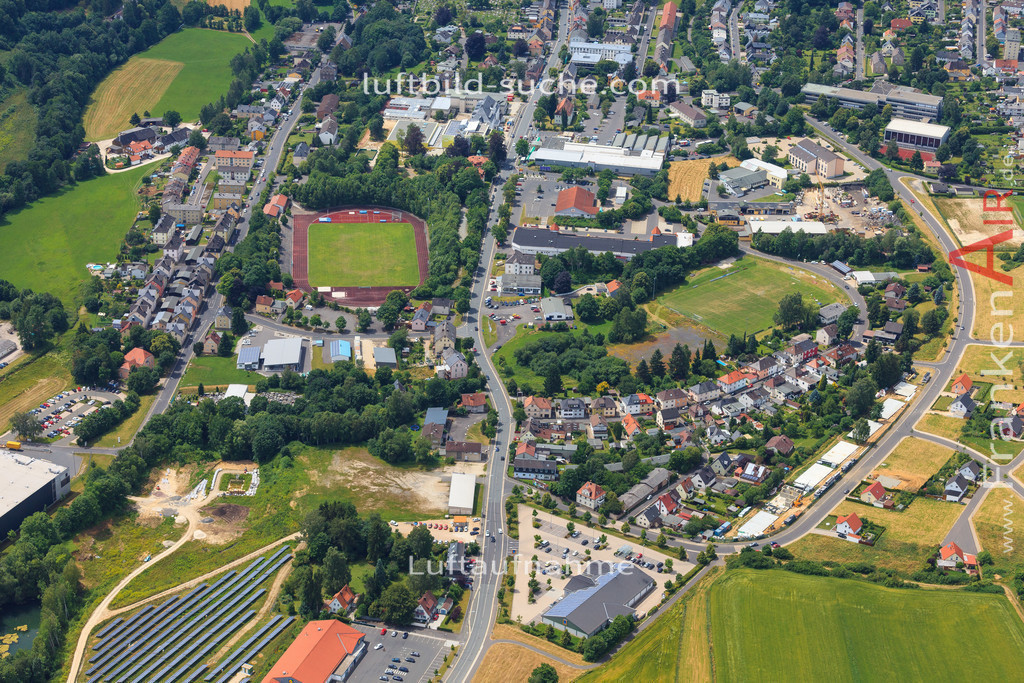 luftbild-wunsiedel-2016-7144 | Luftbild von  Wunsiedel - Luftaufnahme wurde 2016 von https://frankenair.de mittels Flugzeug (keine Drohne) erstellt - die Geschenkidee