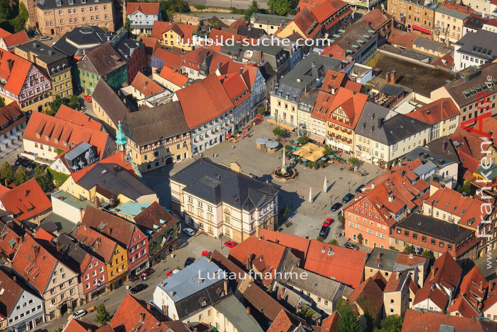 marktplatz-kulmbach-2012-2150 | Luftbild von Marktplatz Kulmbach - Luftaufnahme wurde 2012 von https://frankenair.de mittels Flugzeug (keine Drohne) erstellt - die Geschenkidee