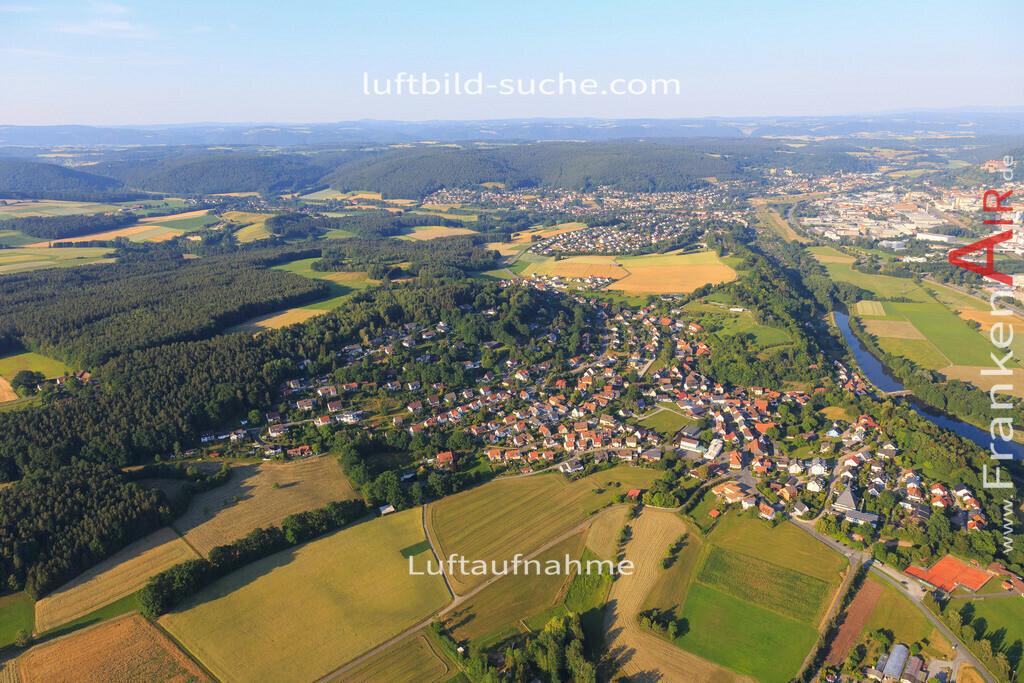kulmbach-2015-1800   Luftbild von  Kulmbach - Luftaufnahme wurde 2015 von https://frankenair.de mittels Flugzeug (keine Drohne) erstellt - die Geschenkidee