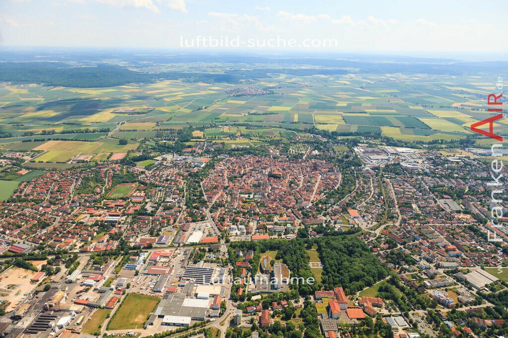 altstadt-bad-windsheim-2015-1396 | Luftbild von Altstadt Bad-windsheim - Luftaufnahme wurde 2015 von https://frankenair.de mittels Flugzeug (keine Drohne) erstellt - die Geschenkidee