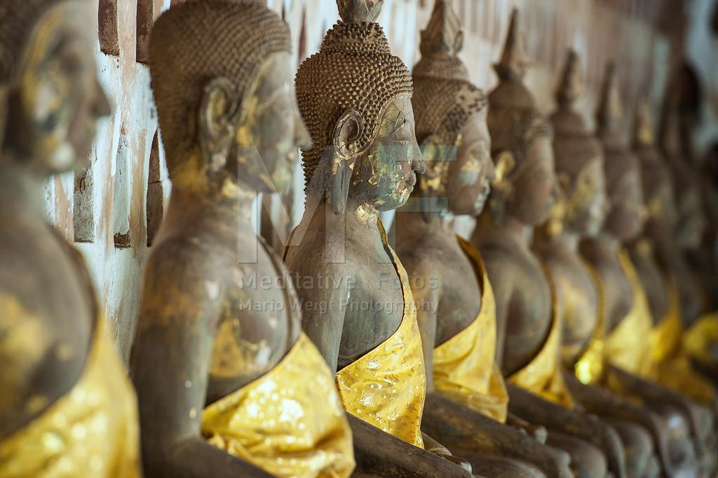 MW1212-0023 | Laos: Buddha-Statuen im Wat Si Sa Ket in Vientiane