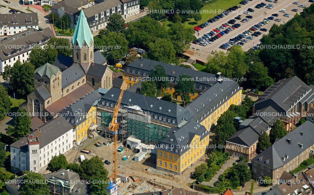 ES10080241 | Restaurierung Folkwangschule Abtei Essen Werden,  Essen, Ruhrgebiet, Nordrhein-Westfalen, Germany, Europa, Foto: hans@blossey.eu, 14.08.2010
