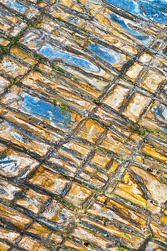 Steinstrukturen  | Serie Stein I | Old Head of Kinsale, Garretstown Beach