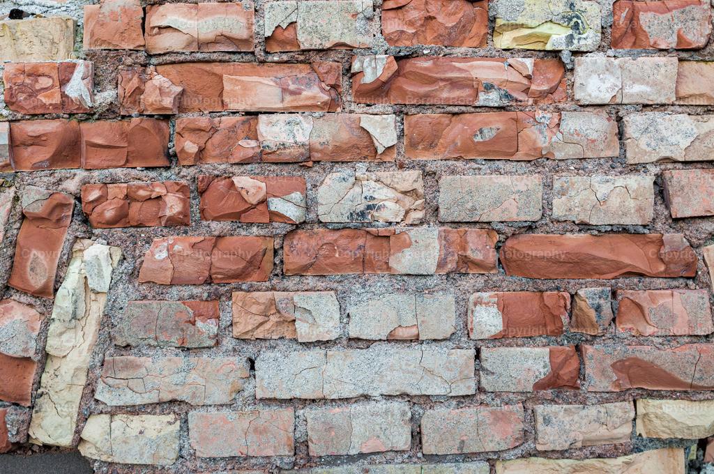 kaputte Backsteinmauer 2 | Textur / Struktur für Fotografen und Grafikdesigner, zum weiterverarbeiten