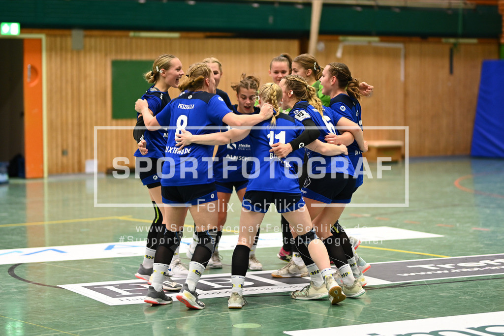 Handball I Bundesliga-Quali (wjA) I  Buxtehuder SV (wjA)- SG Hamburg-Nord I 11.10.2020_00116 | ; Jugend Bundesliga (wjA) I Buxtehuder SV (wjA)- SG Hamburg-Nord am 11.10.2020 in Buxtehude  (Sporthalle Kurt-Schuhmacher Strasse), Deutschland