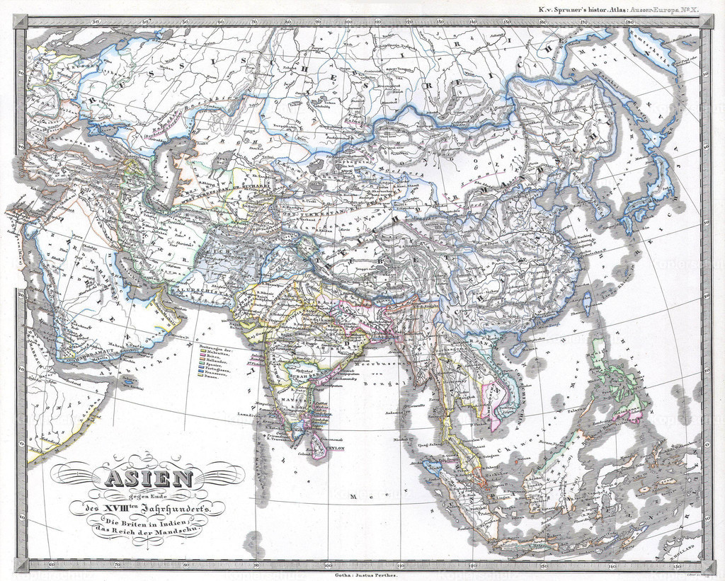 1855_Perthes_Map_of_Asia_at_the_end_of_the_18th_Century