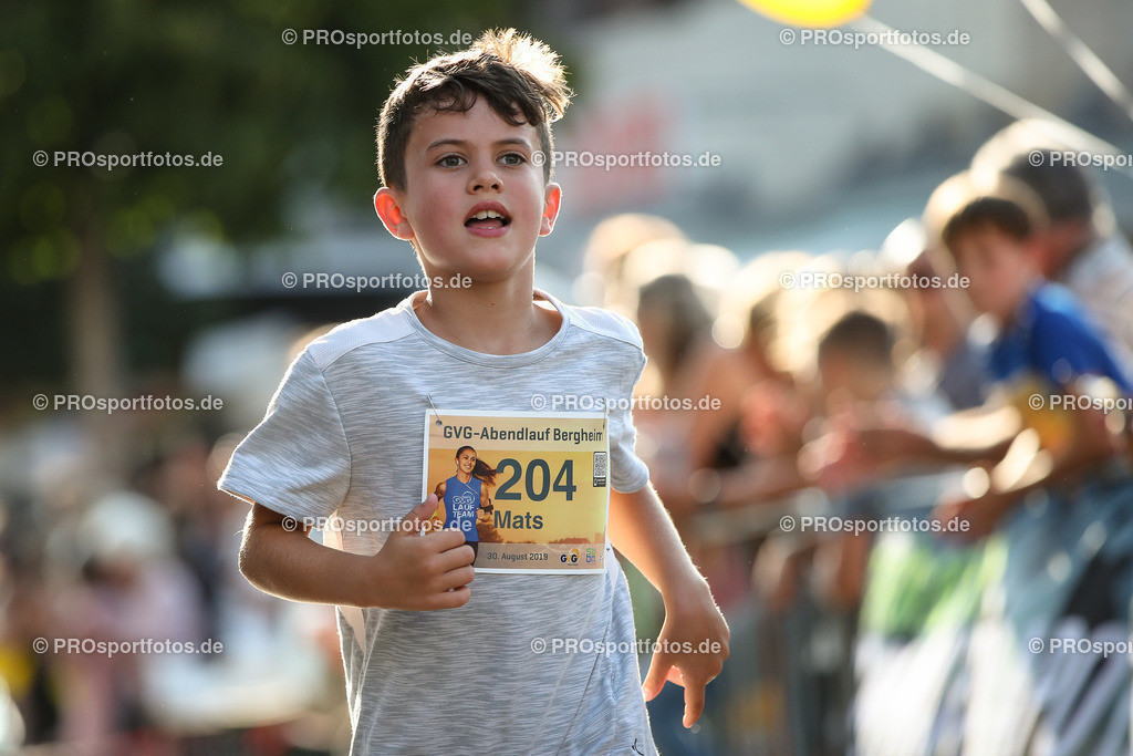 GVG Abendlauf Bergheim in Bergheim, 30.08.2019 | Impressionen vom GVG Abendlauf Bergheim am 30.08.2019 in Bergheim (Nordrhein-Westfalen). Foto: BEAUTIFUL SPORTS/Axel Kohring