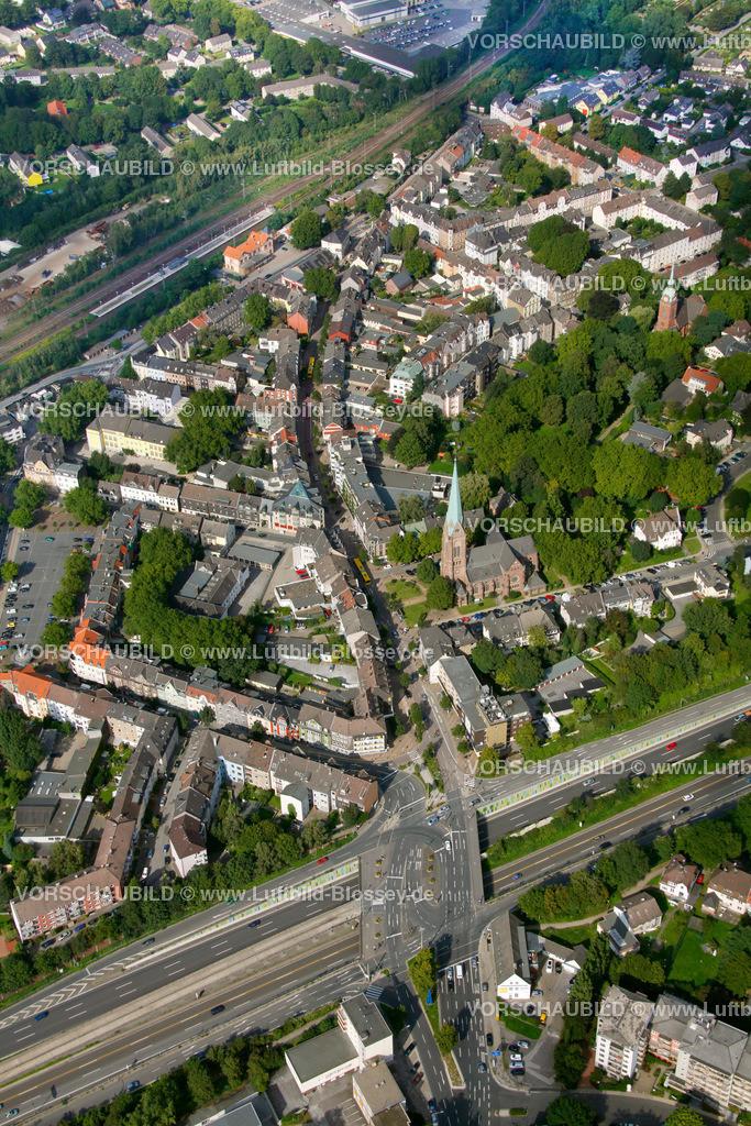ES10094193 | Kray, Krayer Strasse, Luftbild,  Essen, Ruhrgebiet, Nordrhein-Westfalen, Germany, Europa, Foto: hans@blossey.eu, 05.09.2010