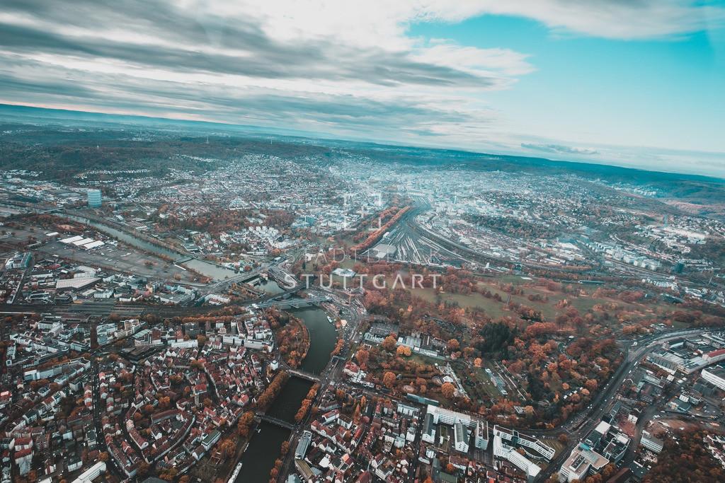 Helikopteraufnahmen Stuttgart