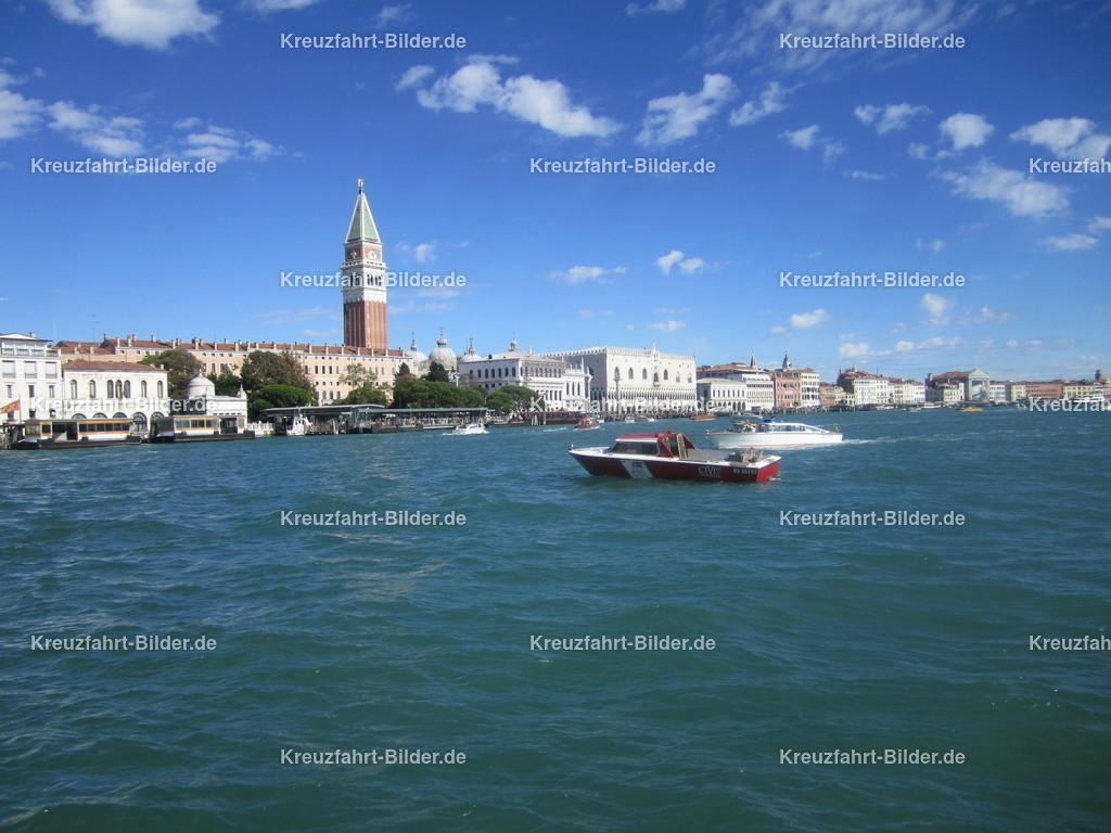 Lagune Venedig | Blick auf die Lagune, im Hintergrund der Markusplatz