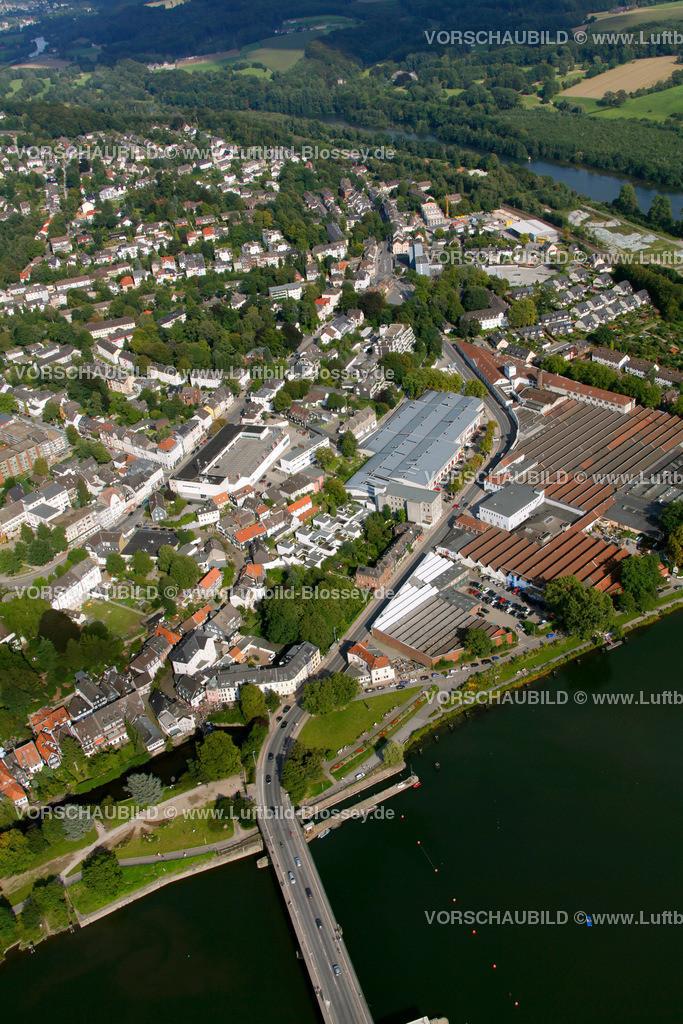 KT10094264 | Ringstrasse, Kettwig, Ruhr, Luftbild,  Essen, Ruhrgebiet, Nordrhein-Westfalen, Germany, Europa, Foto: hans@blossey.eu, 05.09.2010