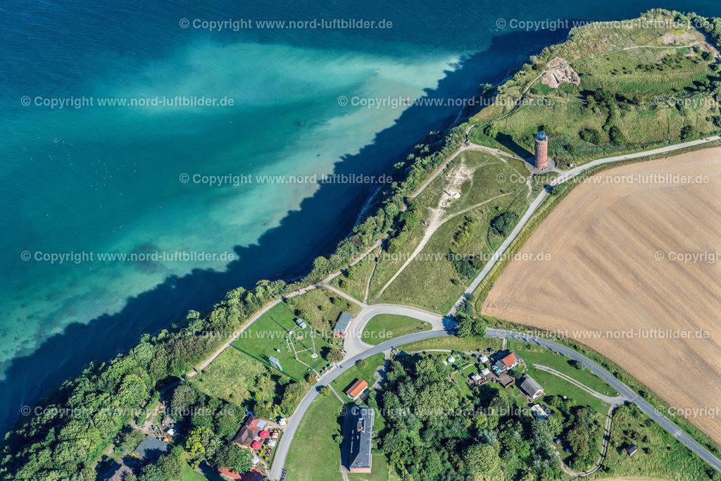Putgarten Kap Arkona Rügen_ELS_8658190816 | Putgarten - Aufnahmedatum: 17.08.2016, Aufnahmehöhe: 619 m, Koordinaten: N54°40.792' - E13°25.612', Bildgröße: 7360 x  4912 Pixel - Copyright 2016 by Martin Elsen, Kontakt: Tel.: +49 157 74581206, E-Mail: info@schoenes-foto.de  Schlagwörter:Kap Arkona, nordöstlichen Teil der Halbinsel Wittow,Luftaufnahme, Luftbild, Martin Elsen, Luftbilder, Mecklenburg-Vorpommern