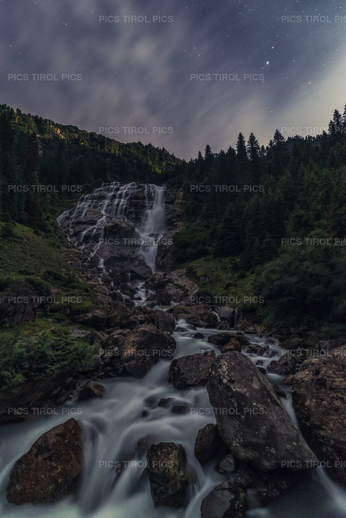 Vollmond  | Grawa-Wasserfall / Sulzenau