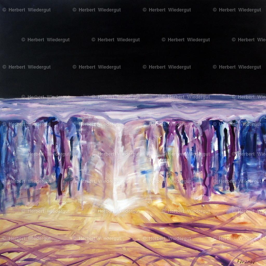 cell Light | oil painting, Ölgemälde von herb-art, Dr. herbert Wiedergut