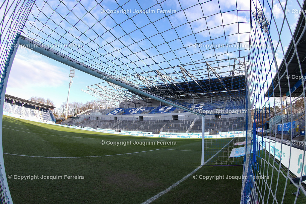 191221svdvshsv_0022 | 21.12.2019 Fussball 2.Bundesliga, SV Darmstadt 98-Hamburger SV emspor, despor  v.l.,  Innenansicht Merckstadion am Böllenfalltor, Tor, Gegentribuene    (DFL/DFB REGULATIONS PROHIBIT ANY USE OF PHOTOGRAPHS as IMAGE SEQUENCES and/or QUASI-VIDEO)