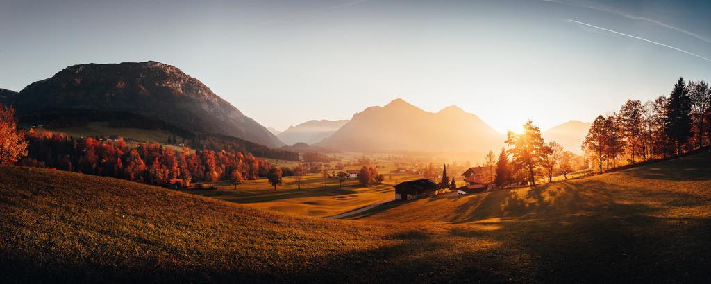 Herbst am Golfplatz bei Untereben