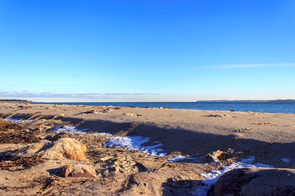 Strand in Karlsminde   Strand in Karlsminde im Winter