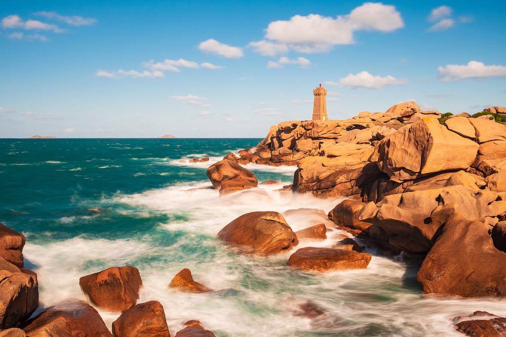 Atlantikküste in der Bretagne bei Ploumanach | Atlantikküste in der Bretagne bei Ploumanach.